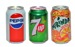 MIX Pepsi 330 ml / Mirinda 330 ml / 7 UP 330 ml CAN